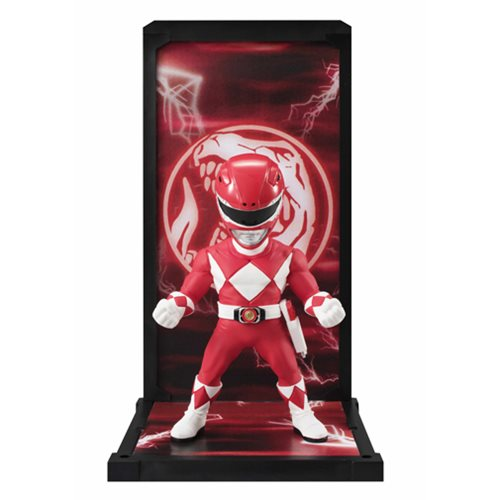 Mighty Morphin' Power Rangers Red Ranger Tamashii Buddies Mini-Statues