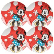 Disney Minnie Mouse 10-Inch Ceramic Plate Set