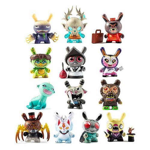 Kidrobot City Cryptid Dunny Mini-Figures Random 4-Pack