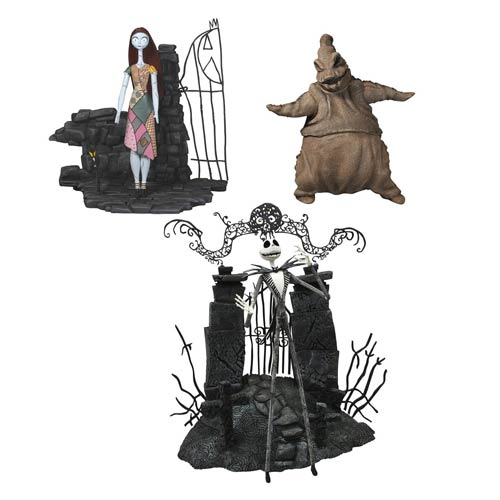 Nightmare Before Christmas Select Series 1 Action Figure Set