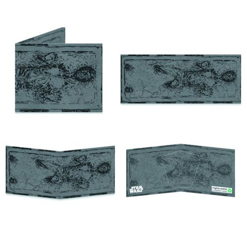 Star Wars Han Solo in Carbonite Mighty Wallet - Previews Exclusive