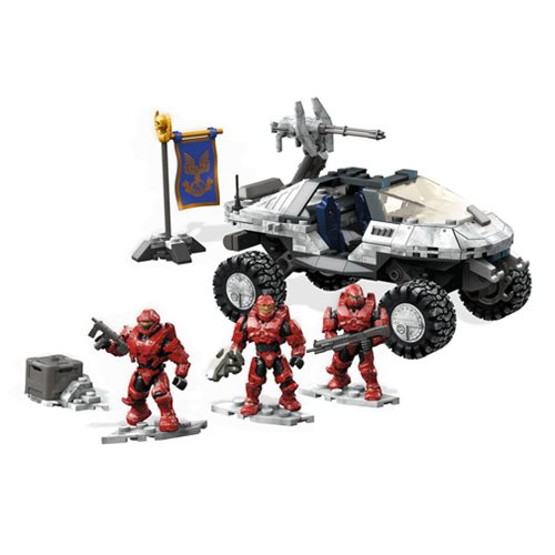 Mega Construx Halo Capture the Flag Arctic Warthog Playset