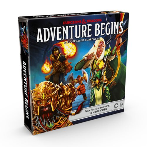 Dungeons & Dragons Adventure Begins Game