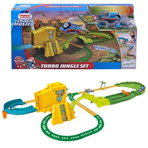 Thomas & Friends Track Master Turbo Jungle Playset
