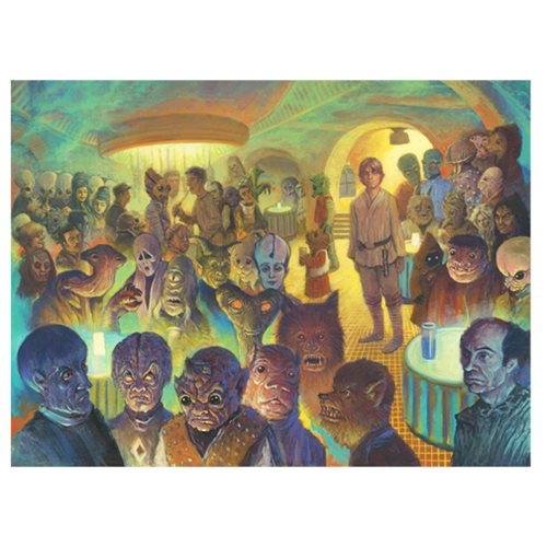 Star Wars What a Weird Place by Christian Slade Canvas Giclee Art Print