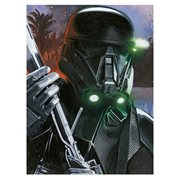 Star Wars Rogue One Death Trooper Scarif Invasion by Randy Martinez Canvas Giclee Art Print