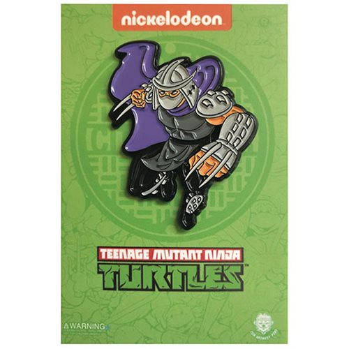 Teenage Mutant Ninja Turtles Leaping Shredder Enamel Pin