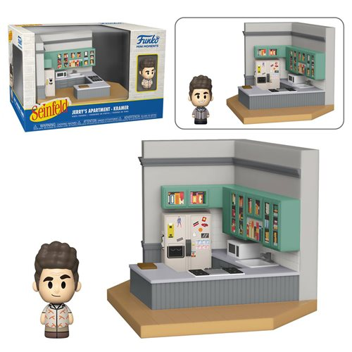 Seinfeld Mini-Figure Diorama Playset Case