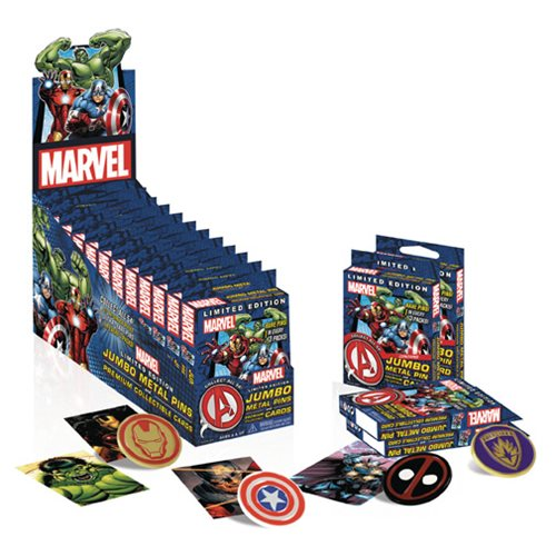 Marvel Universe Collectible Pins Display Case