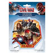 Captain America: Civil War Team Iron Man Decal