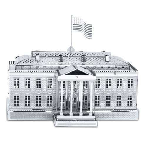 The White House Metal Earth Model Kit