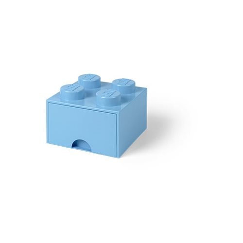 LEGO Light-Blue Brick Drawer 4