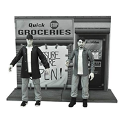 Clerks Black and White Action Figure Set