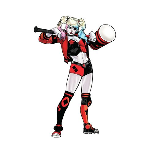 Harley Quinn Peel-and-Stick Giant Wall Decals