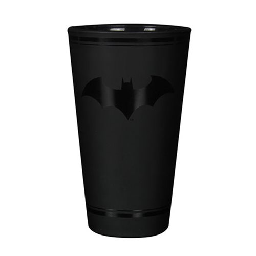 Batman Logo 16 oz. Drinking Glass