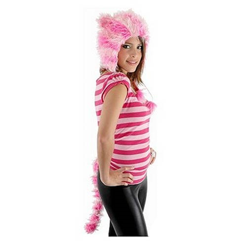 Alice in Wonderland Cheshire Catarina Hat and Tail Set