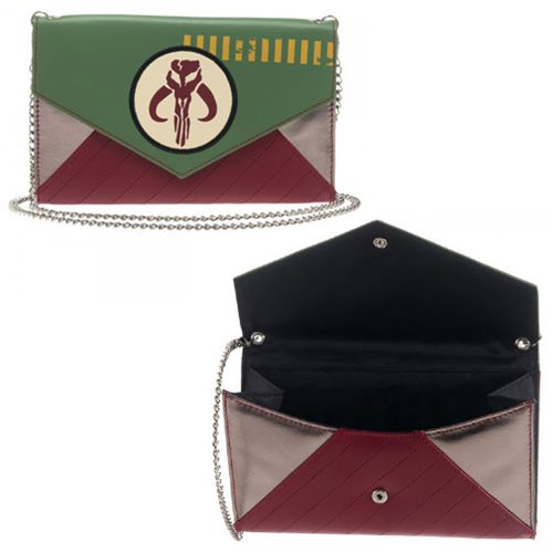 Star Wars Mandalorian Envelope Wallet with Chain