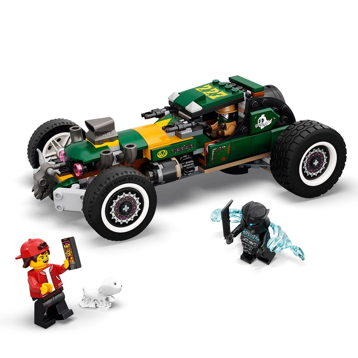 lego 70434 hidden side supernatural race car