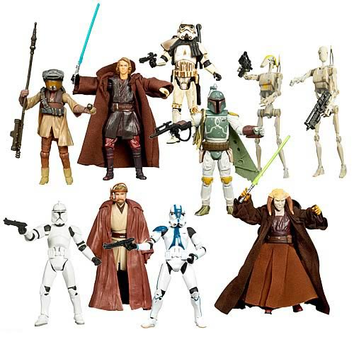 Star Wars Saga Legends Figures Wave 2 Revision 1