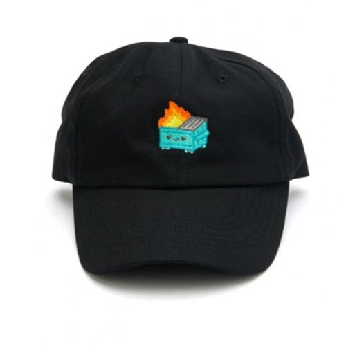 Dumpster Fire Dad Black Hat