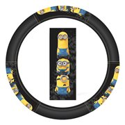 Minions Stacked Speed Grip Steering Wheel Cover