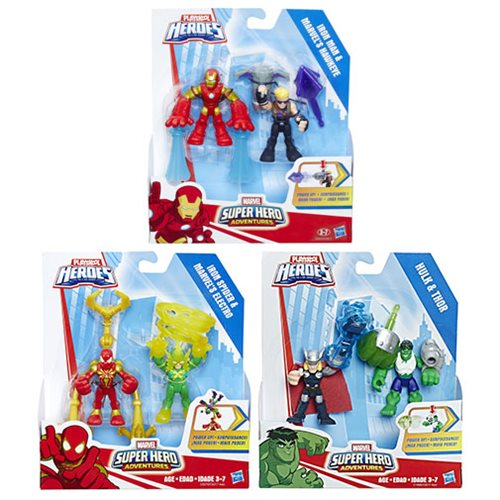 Marvel Super Hero Adventures Power Up 2-Packs Wave 2 Case