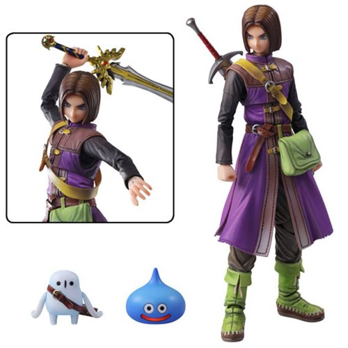 Dragon Quest XI: Echoes of an Elusive Age The Luminary Bring Arts Action  Figure