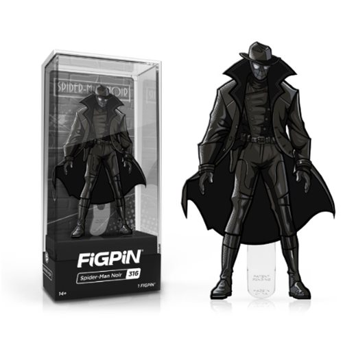 Spider-Man: Into the Spider-Verse Spider-Man Noir FiGPiN Enamel Pin