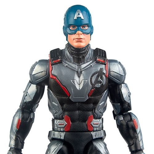 "Endgame 6/"" Captain America Collectible action fi Marvel Legends Series Avengers"