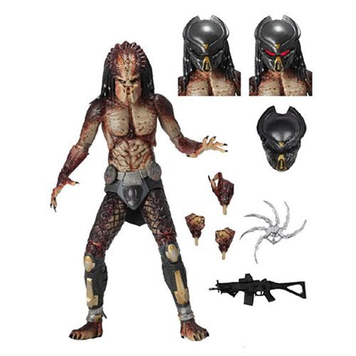 Predator 2018 Ultimate Fugitive Lab Escape Predator 7-Inch Scale Action Figure