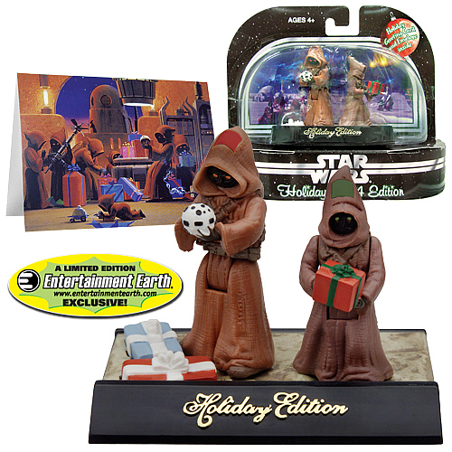 EE Exclusive Star Wars Holiday Edition Jawas Action Figures
