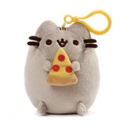 Pusheen the Cat Pusheen Snackable Pizza Backpack Clip-On Plush