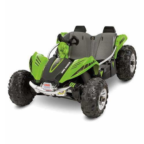 Power Wheels Boys Green Dune Racer Vehicle