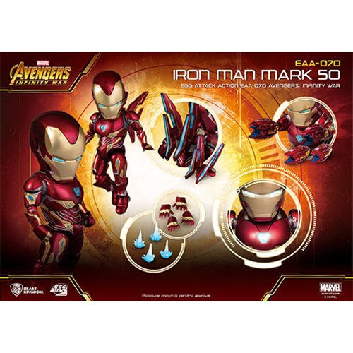 Avengers Infinity War EAA-070 Iron Man MK 50 Action Figure - Previews Exclusive