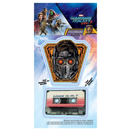 Guardians of the Galaxy Vol.2 Star-Lord Mix Tape Decal