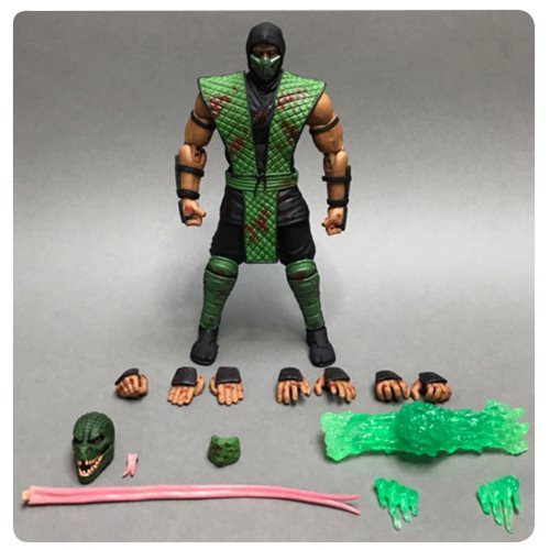 Mortal Kombat Reptile Bloody Special Edition 1:12 Scale Action Figure