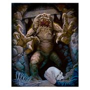 Star Wars Rancor's Demise by Jaime Carrillo Canvas Giclee Art Print