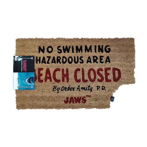 Jaws Beach Closed Doormat