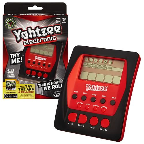 Electronic Handheld Yahtzee Game