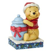 Disney Traditions Winnie The Pooh Christmas Personality Holiday Hunny by Jim Shore Statue