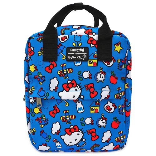 Hello Kitty Icons Print Backpack