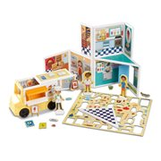 Magnetivity Pizza and Ice Cream Shop Magnetic Building Play Set