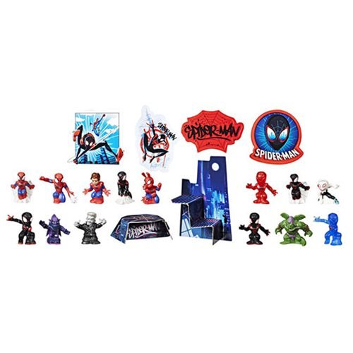 Spider-Man: Into the Spider-Verse Movie Countdown Collection Mini-Figures
