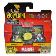 Minimates Series 72 Mojo and Spiral Comic 2-Pack , Not Mint