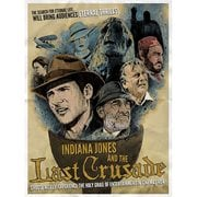 Indiana Jones Eternal Thrills by J.J. Lendl Lithograph Art Print