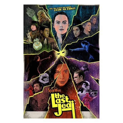 Star Wars: The Last Jedi Cease to Exist by J.J. Lendl Lithograph Art Print
