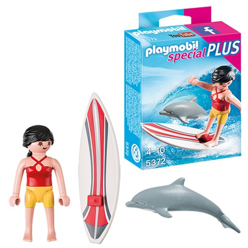Playmobil 5372 Special Plus Surfer with Surf Board Action Figure