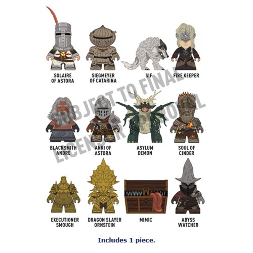 Dark Souls Titans Collection – 1 Random Mini-Figure