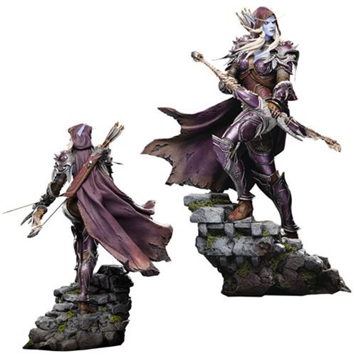World of Warcraft Sylvanas 18-Inch Statue