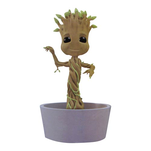 Guardians of the Galaxy Dancing Baby Groot Solar-Powered Bobble Head